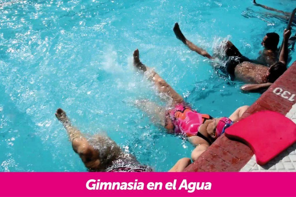Gimnasia en el Agua